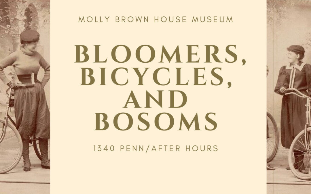 Presentation and Online Event Production: Bloomer, Bicycles, and Bosoms