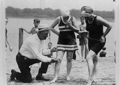Presentation: Bathing Boxes, Swimsuit Police, and Bathing Tights: Women Fight for the Right to Sunbathe